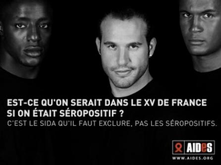 Campanha AIDES contra AIDS